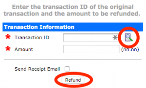 How do I refund a credit card or electronic check ...