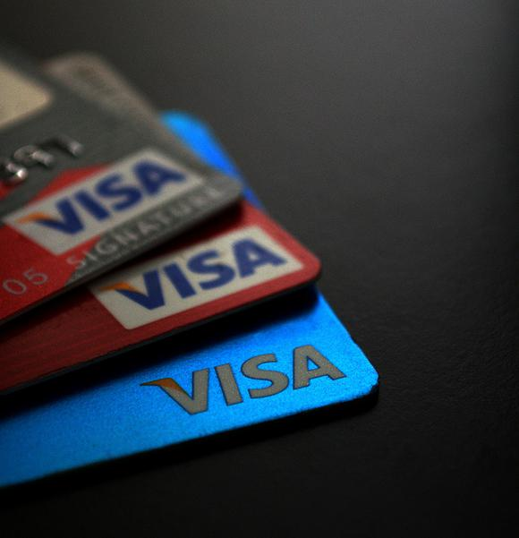 how to pay visa from another bank