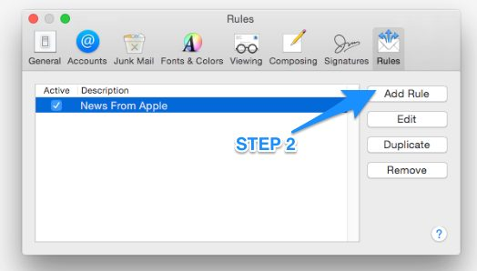 Mac Mail White Listing TWO Easy Pay Direct