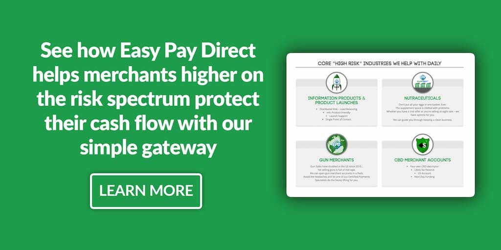 easy pay direct high risk image cta